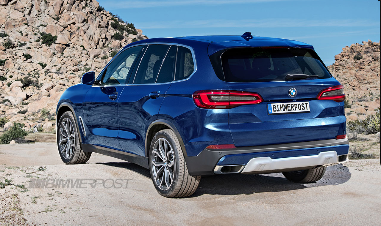 We Digitally Preview The All New Bmw X5 G05 Renderings
