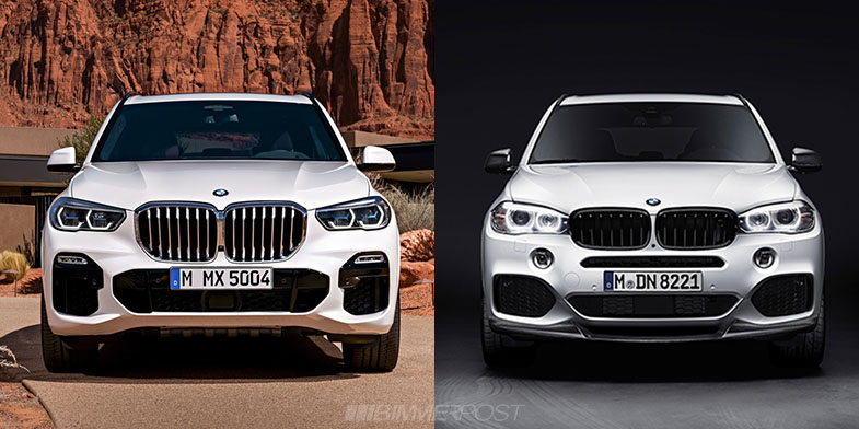 Visual Comparison of New G05 X5 vs Outgoing F15 X5 - BMW X5