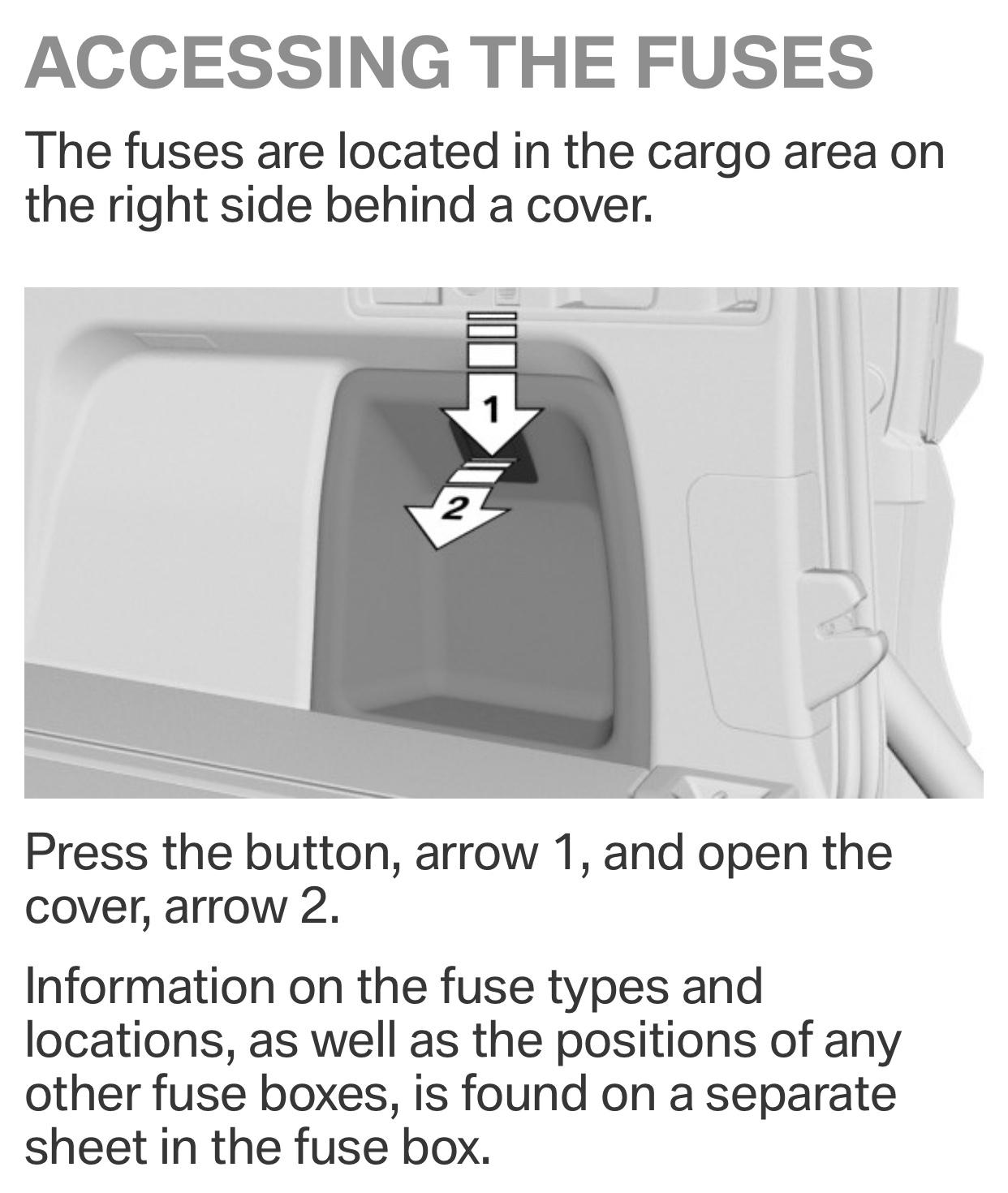 fuse box - BMW X5 Forum (G05)  Bmw X Fuse Box Location on