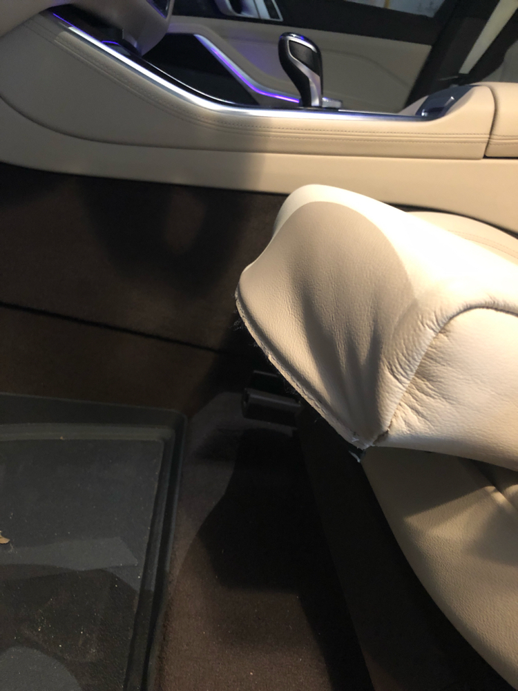 04+ BEIGE LEATHER LOOK FRONT SEAT COVERS BMW Z4