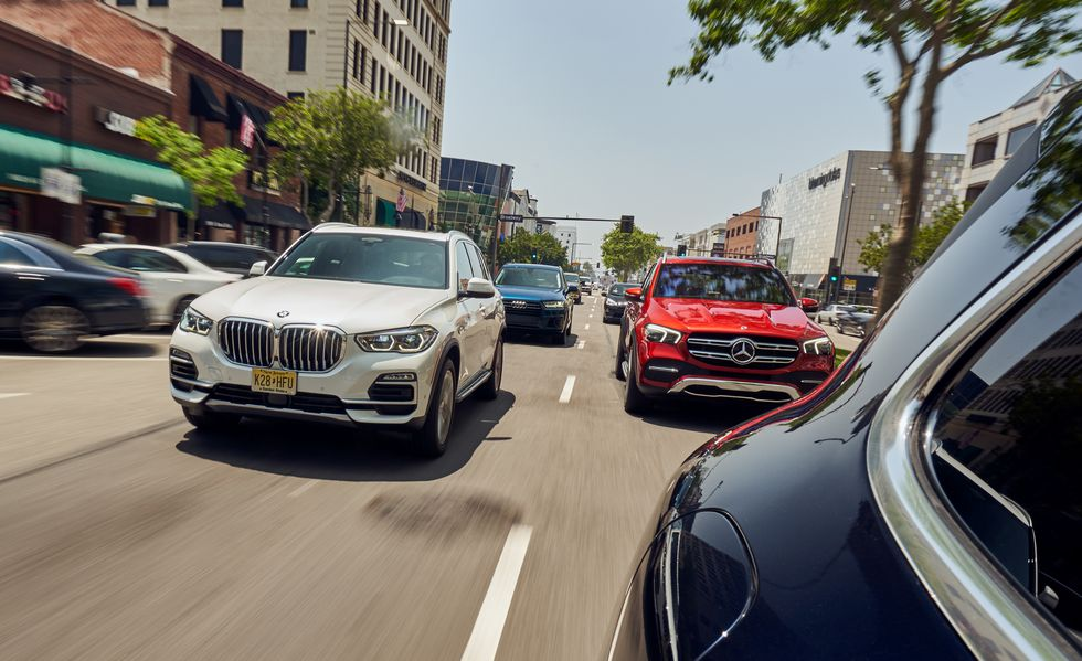 Car and Driver Review X5 40i vs MB GLE450 - BMW X5 Forum (G05)